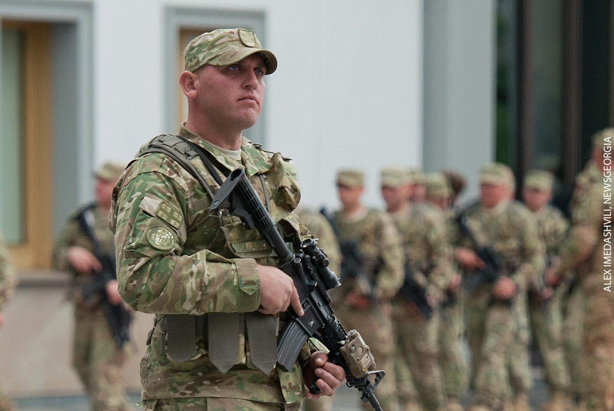 военнослужащий, грузинская армия