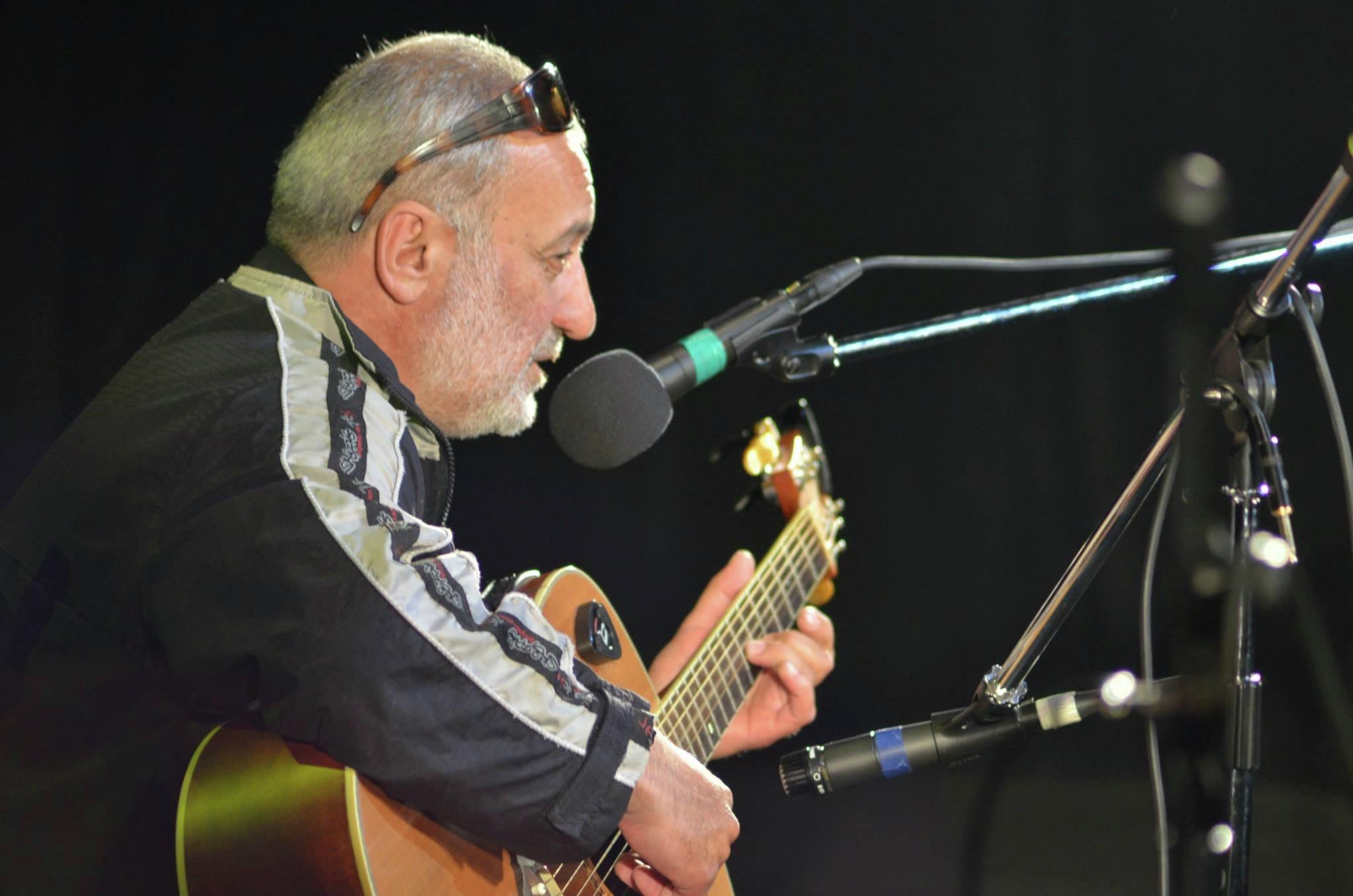 Фестиваль авторской песни, день второй, Зураб Закариадзде, по прозвищу Папа, Грузия.