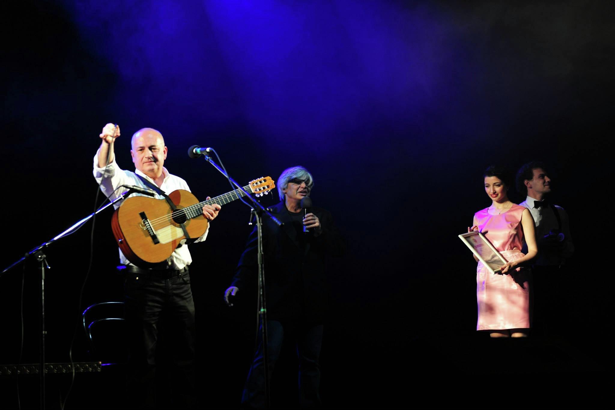 Фестиваль авторской песни, день третий. Выступает Вахтанг Арошидзе, Грузия.