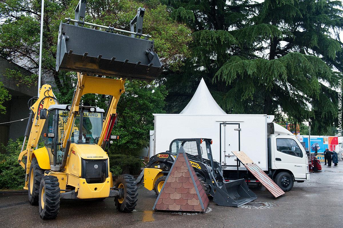 строительная выставка Caucasus Build 2014