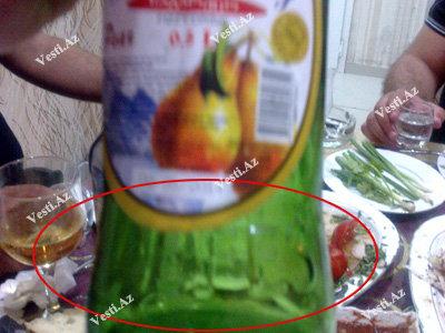 Грузинский лимонад в Баку, фальсификат