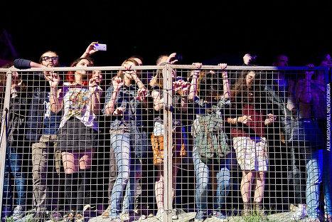 Зрители. Фестиваль Tbilisi Open Air 2014.