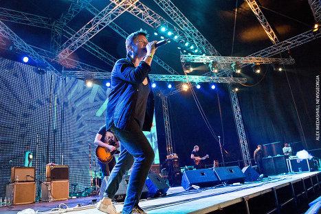 Диана Арбенина и группа Ночные снайперы на фестивале Tbilisi Open Air 2014.