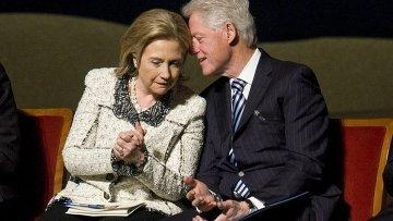 Билл и Хилари Клинтон