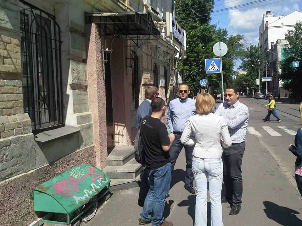 представители ЕНД в Киеве