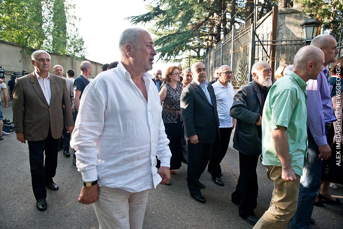 панихида по Эдуарду Шеварднадзе