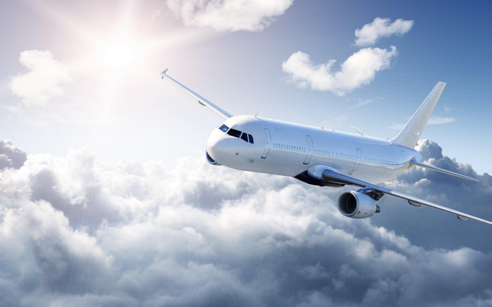 самолет, авиарейсы, авиация
