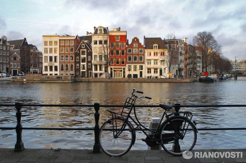велосипед, Европа, велодорожка