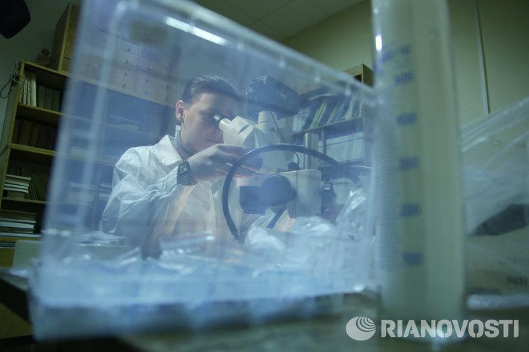 лаборатория, анализы, ученые