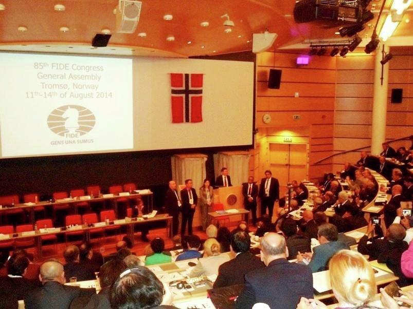 Заседание Европейского шахматного союза