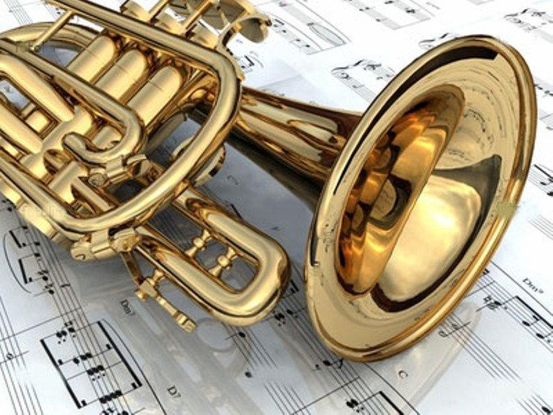 музыка, духовые инструменты, ноты
