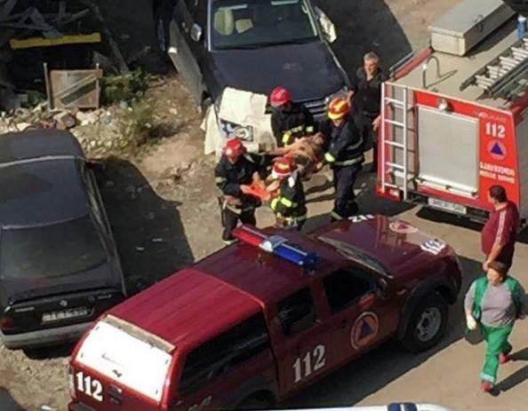 Взрыв на Кахетинском шоссе