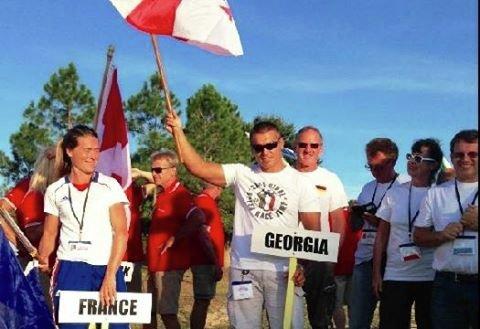 Грузинский воднолыжник Геннадий Гуралия