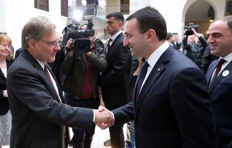 Ричард Норланд и Ираклий Гарибашвили