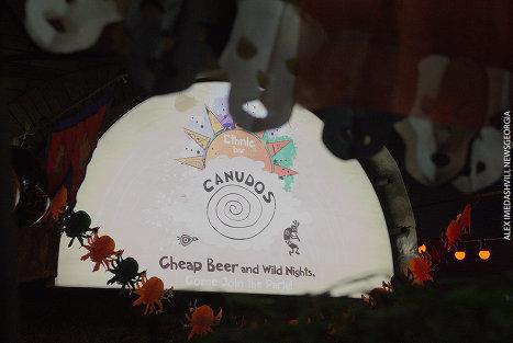 Хеллоуин бар Canudos