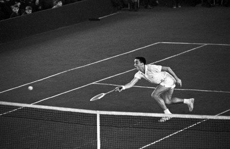 Теннисист Александр Ираклиевич Метревели. 1965 г.