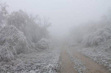 Венгрия мороз похолодание зима