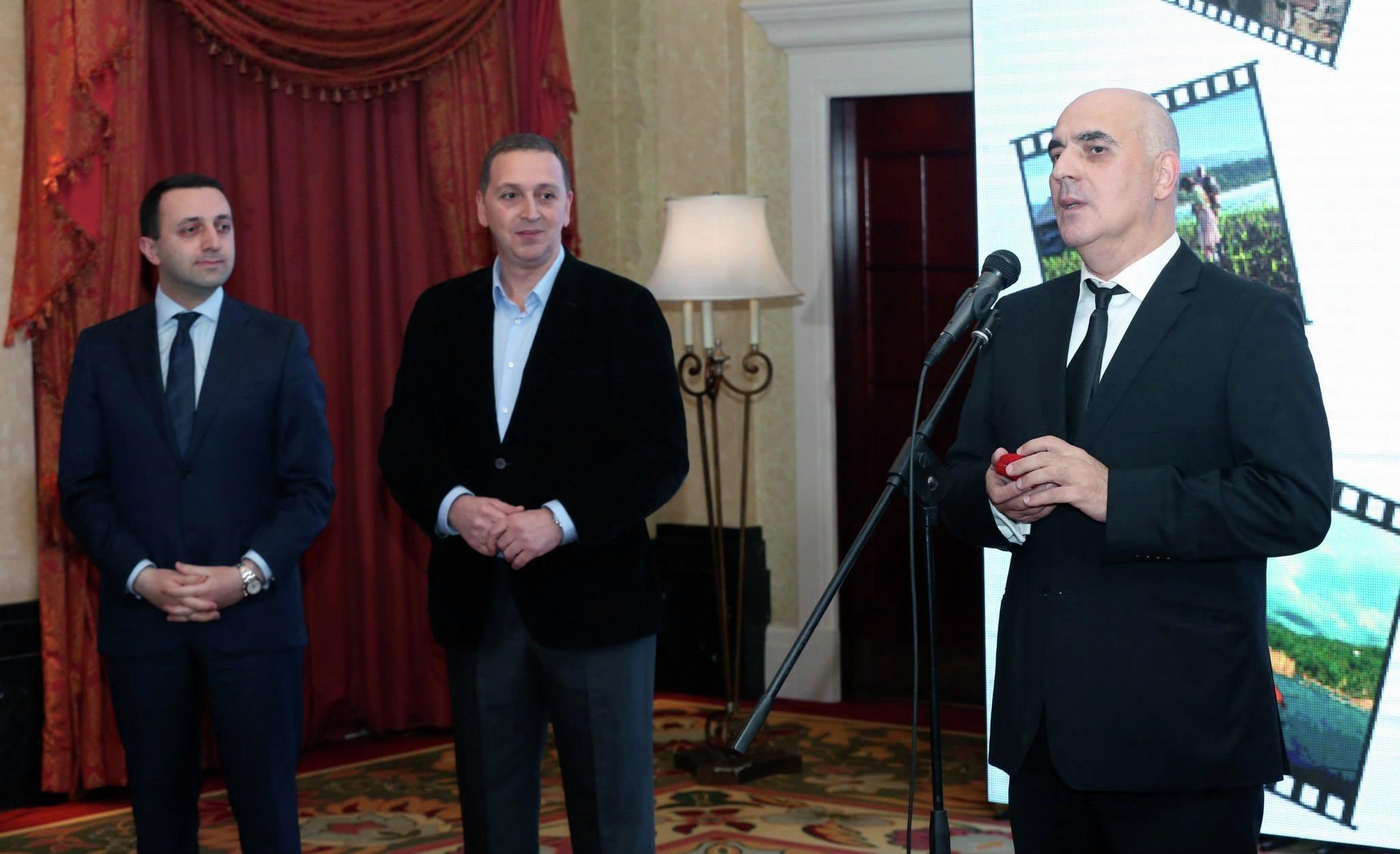 Ираклий Гарибашвили, Михаил Гиоргадзе и Заза Урушадзе
