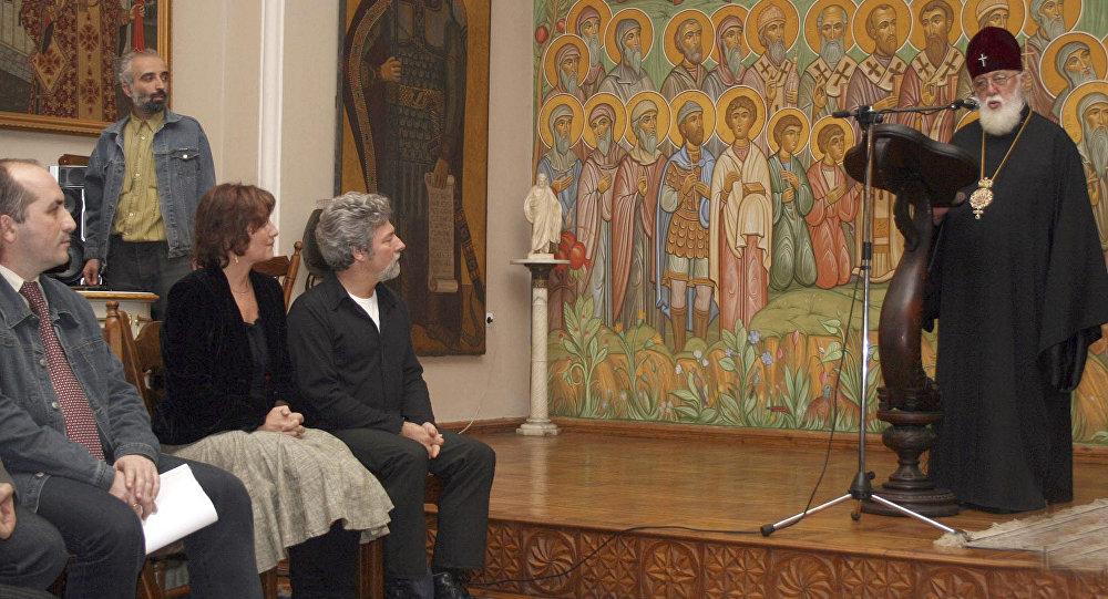 Католикос-патриарх всея Грузии Илия Второй в Патриархии