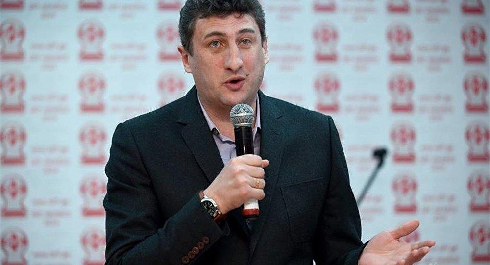 Главный тренер сборной Грузии по футболу Каха Цхададзе