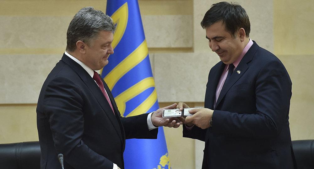 Указ оботставке Саакашвили Порошенко подпишет всреду