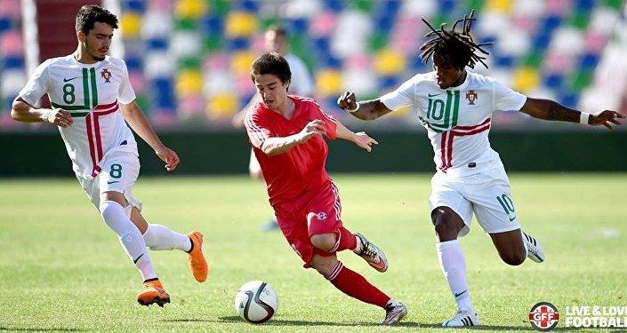 Футбол. Матч юношеских сборных Грузии и Португалии