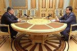 Порошенко похвалил Саакашвили за первые шаги на посту губернатора