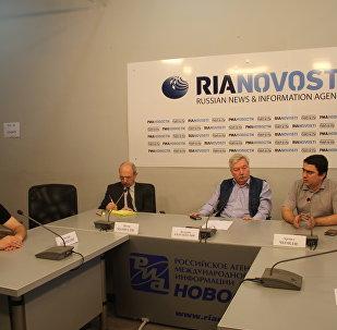 Круглый стол на тему:  «Взаимодействие государства и неправительственного сектора в Грузии» состоялся  в Тбилисском международном пресс-центре РИА Новости