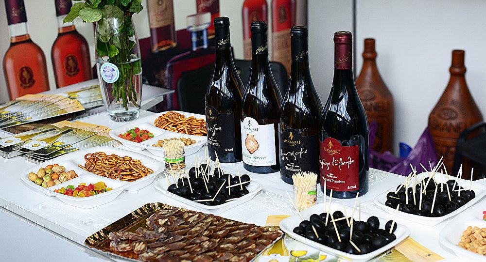 Грузинские виноделы представили лучшую продукцию