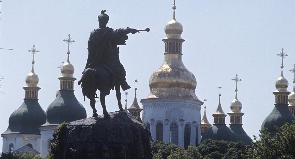 Выстрел впомещение банка вКиеве полиция расценила как «хулиганство»