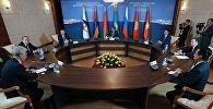 Премьер-министр РФ Д.Медведев принимает участие в заседаниях Совета глав правительств СНГ и ЕАЭС