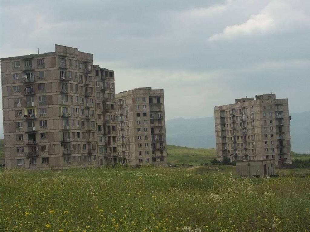 Поселение около Тбилисского моря