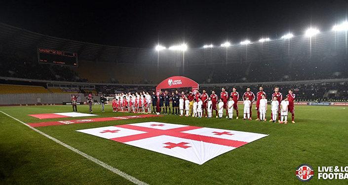 Футбол. Сборная Грузии - Сборная Польши