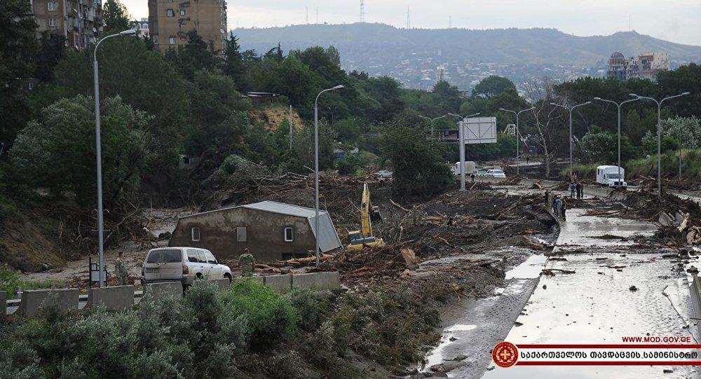 Ликвидация последствий наводнения