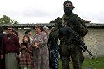 Военные учения в Панкиси