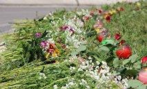 В Тбилиси открылся символический мемориал в память о погибших
