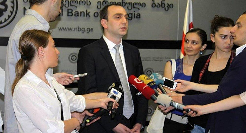 Президент Национального банка Грузии Георгий Кадагидзе
