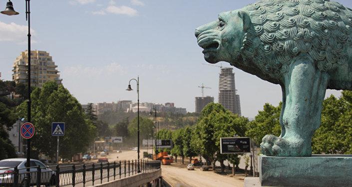 Ликвидация последствий наводнения в Тбилиси