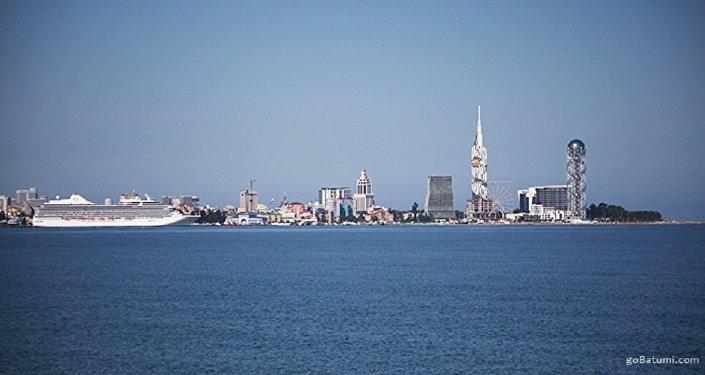 Батуми. Аджария. море