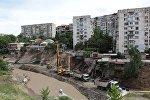 Тбилиси. Ликвидация последствий наводнения