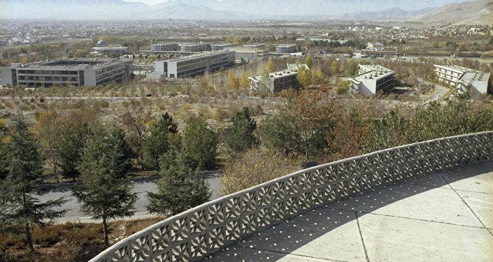 Вид на Кабул