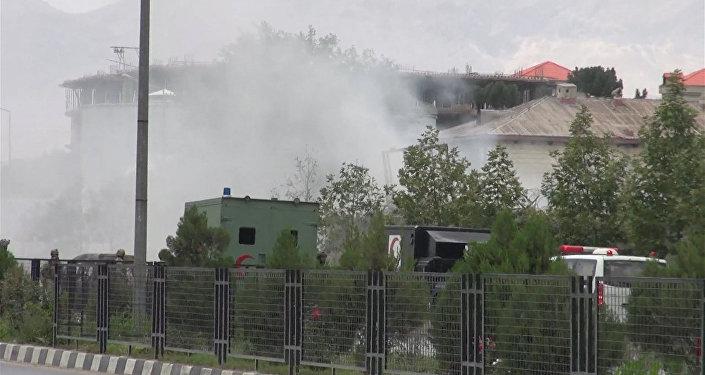 Отражение атаки талибов на парламент в Кабуле