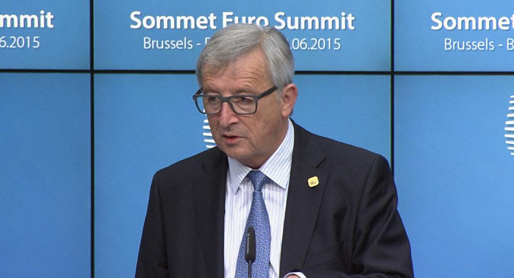 Юнкер назвал предложенную Еврокомиссией сумму для развития экономики Греции