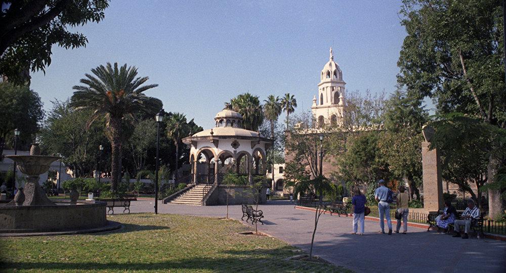 Центральная площадь города Гвадалахары.