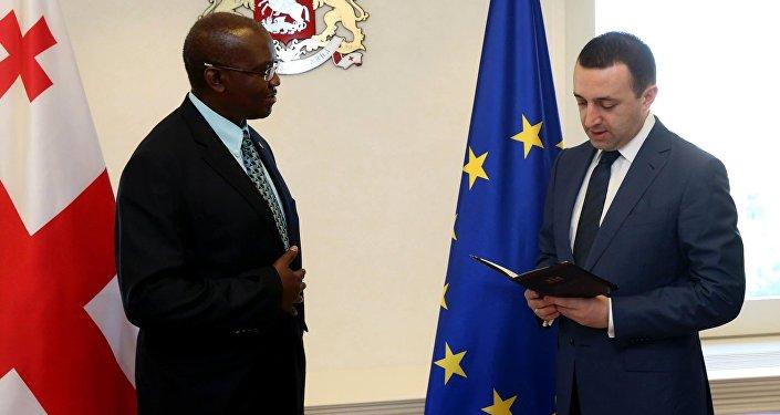 Гарибашвили наградил главу ВБ на Южном Кавказе орденом Золотое руно