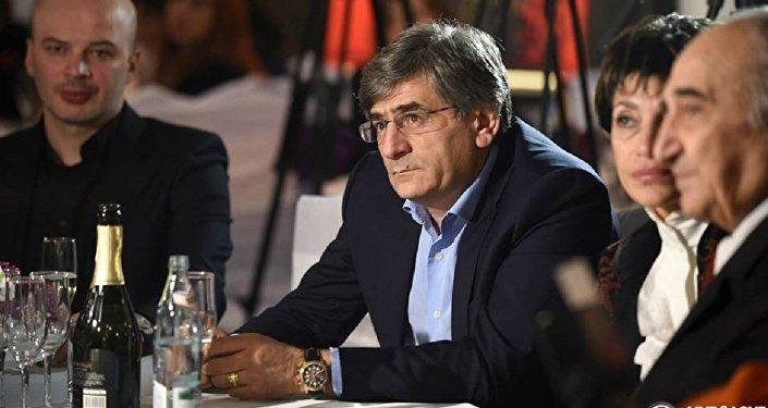 Президент Федерации футбола Грузии (ФФГ) Звиад Сичинава