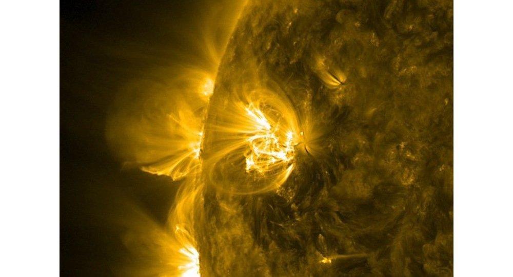 Очередная мощная вспышка произошла на Солнце, сообщает НАСА