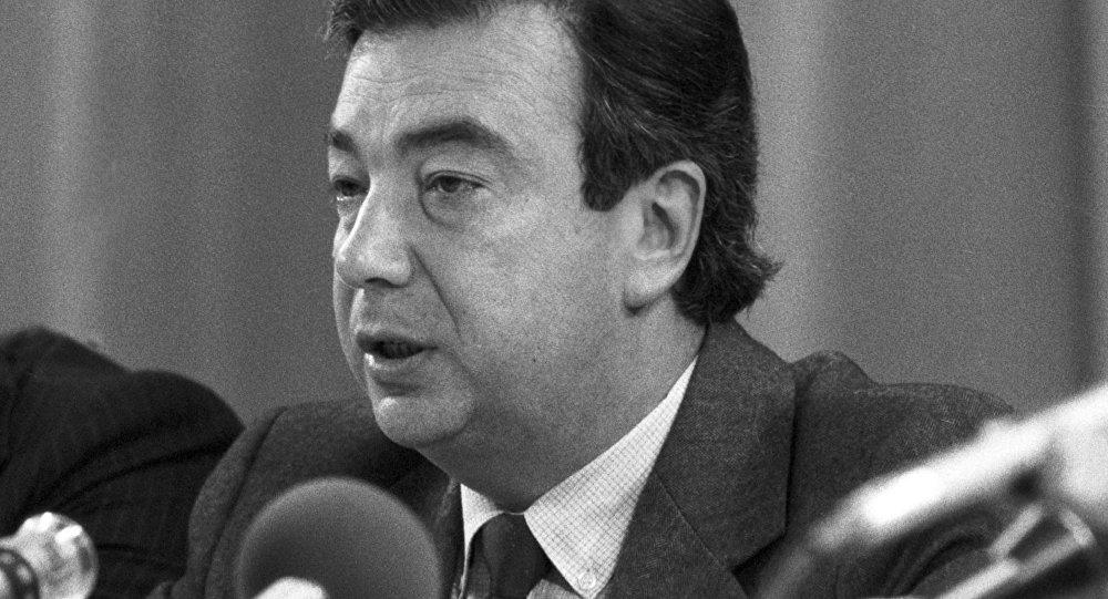 Пресс-конференция представителей советской общественности, посвященная последствиям решения президента США начать производство нейтронного оружия