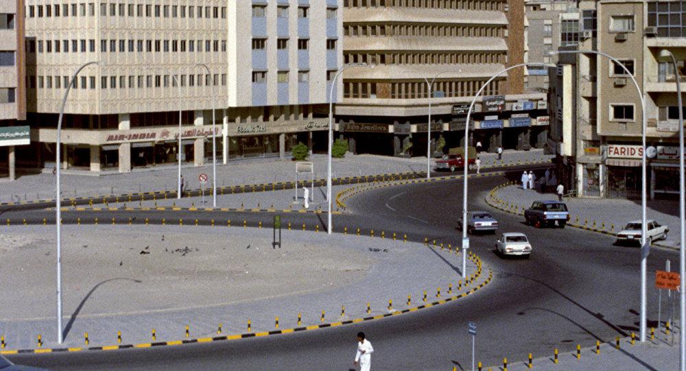 Одна из площадей Эль-Кувейта