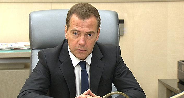 Премьер-министр РФ Дмитирий Медведев